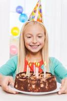 Grattis på födelsedagen till mig! foto