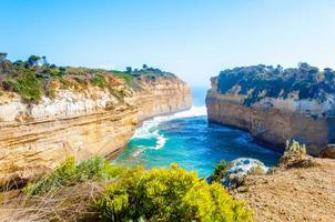 tolv apostlar vaggar vid den stora havsvägen i Victoria, Australien foto