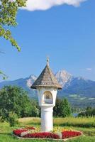 vägarna helgedom, faaker se, Kärnten, Österrike foto