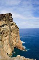 utsikt över kusten i Madeira foto