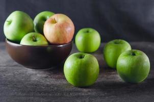 färskt äpple foto
