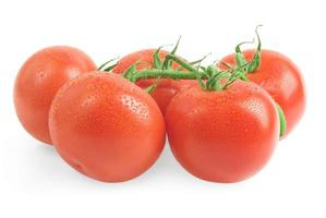närbild foto av tomater