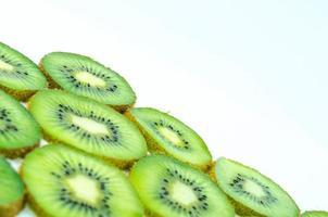 ljusgrön kiwi foto