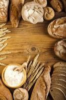bröd ram foto