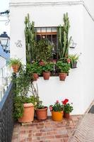 byar i Andalusien med vatten på gatorna foto