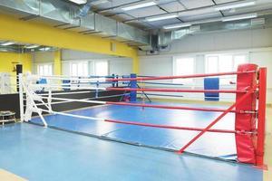 boxnings ring foto