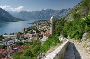 resa till montenegro, kotor, adriatic foto