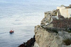 barco mar foto