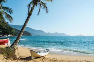 tropisk strand Brasilien foto