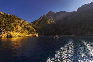 följ båten foto
