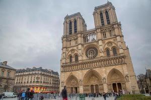 Frankrike - Paris - Notre Dame foto