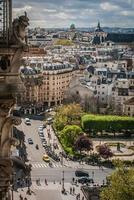 paris stadsbild foto