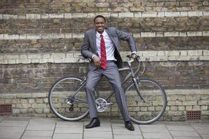 säker afrikansk amerikansk affärsman foto