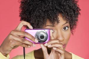 porträtt av en afrikansk amerikansk kvinna
