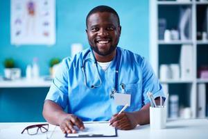 stilig läkare foto