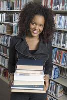 ambitiös ung kvinna foto