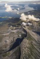 norge - flygfoto av norge foto