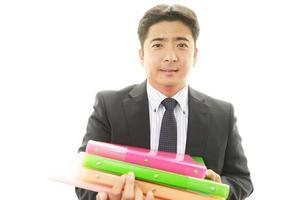le asiatiska affärsman foto