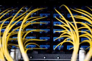 nätverkskablar foto