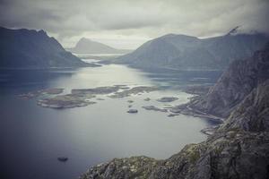 Lofoten norge havsutsikt ögrupp 15 foto
