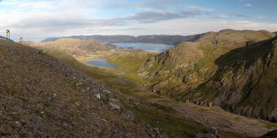 panoramautsikt från nordkapp väg