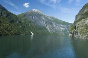 geiranger, norge foto