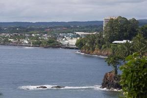 historiska Hilo hamn foto
