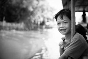 asiatisk pojke. foto