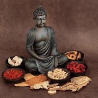 asiatisk medicin foto