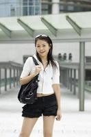 asiatisk tjej foto