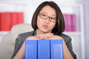 asiatiska affärskvinnor foto