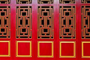 asiatiska dörrar med tema foto