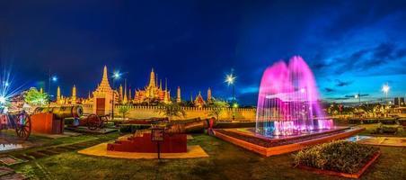 asiatiska tempel i Thailand foto
