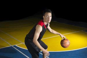 asiatisk basketspelare foto