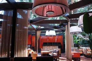 asiatisk atrium lounge foto