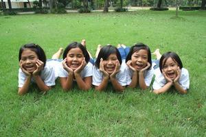 asiatiska flickor (serie) foto