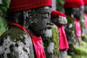 gamman-ga-fuchi buddhas foto
