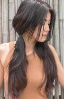 asiatisk kvinna som känner sorg foto