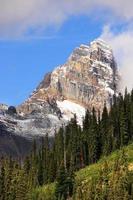 berg runt sjön O'hara, Yoho nationalpark, Kanada