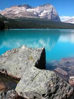 Lake O'hara, Yoho nationalpark, British Columbia, Kanada foto