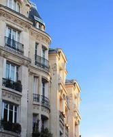 byggnad i Paris foto