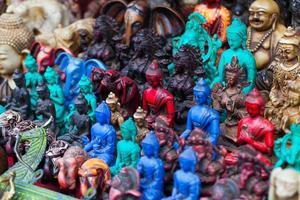 asiatiska hantverk och souvenirer foto