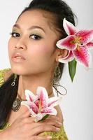 asiatisk skönhet foto