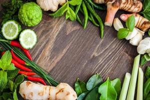 asiatiska örter och krydda
