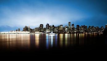 vancouver skyline foto