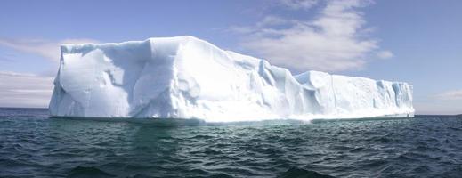 iceburg panoramautsikt foto