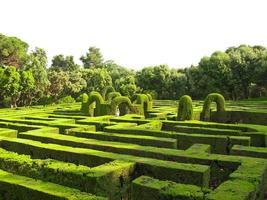 engelska labyrinten foto