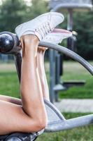 muskulösa kalvar foto