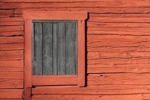 falu röd - svensk färg foto