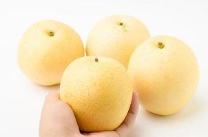 asiatisk päron foto